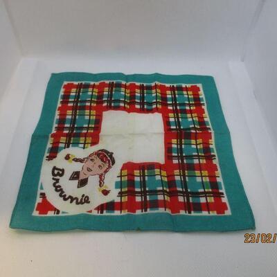 Lot 22 - Girl Scout Brownies Handkerchief Hankie