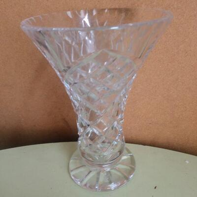Lot 11 Mikasa Candleholder and Misc. Glass Items