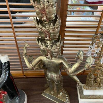 Brass Panchamukthi Statue / Very Old
