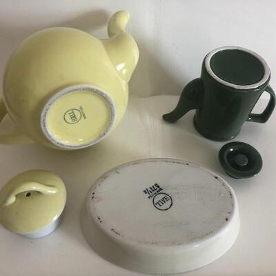 Assortment of restaurant ware