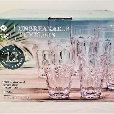 Lot #7  Set of Unbreakable Glassware - New in Box