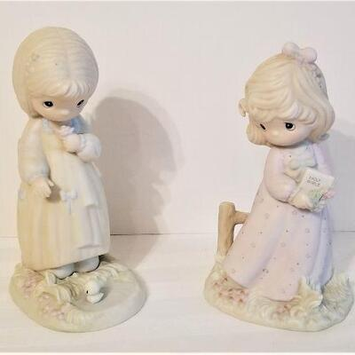 Lot #10  Pair of Precious Moments Figurines