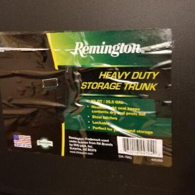 Lot #31  Set of Four Remington Heavy Duty Storage Containers