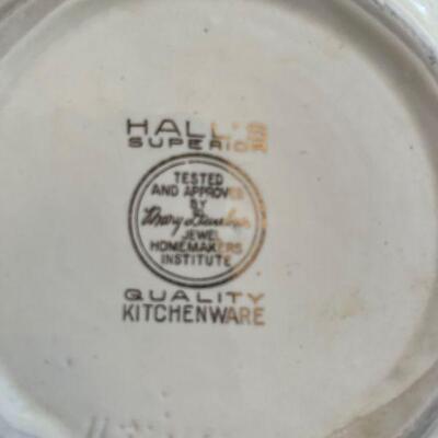 Hall's Superior Jewel Tea serving bowl