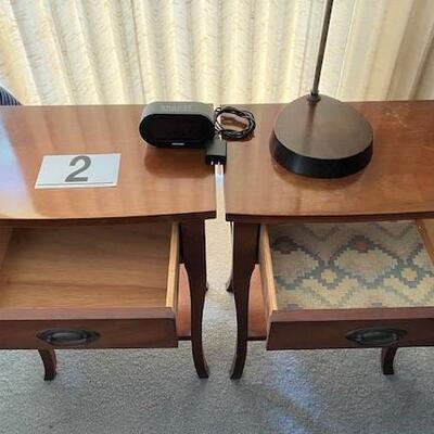 LOT#2MB1: Pair of Nightstands