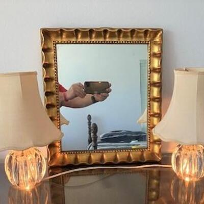 LOT#10MB1: Mirror & Two-Way Lamp Lot