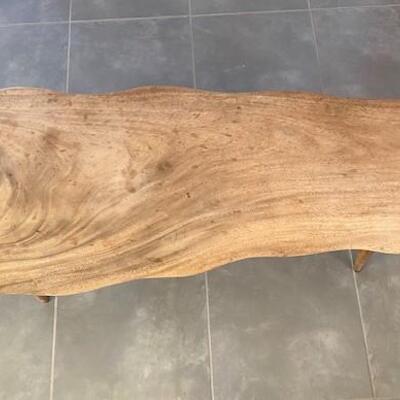 LOT#11D: Mid-Century Narra Wood Table