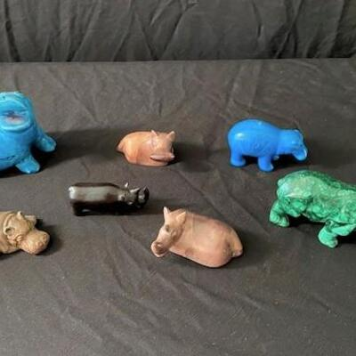LOT#19MB1: Lot of Assorted Hippos