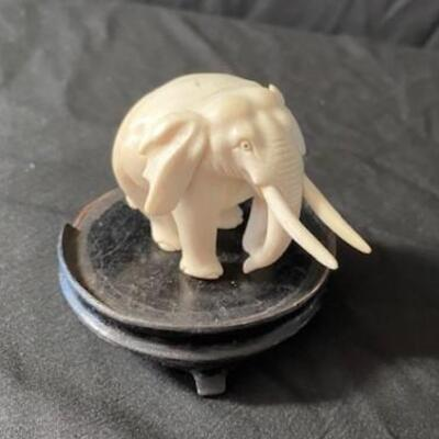 LOT#23MB1: Believed to be Ivory Elephant