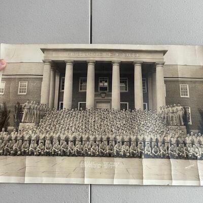 1942 Air Corp graduating class pano