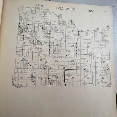 Platt book Jefferson County, Wi 1941