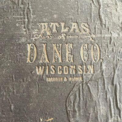 Platt Dane Co. Wisconsin 1873