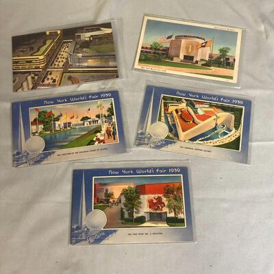 Lot 21 - Post Cards for 1939 NY World's Fair
