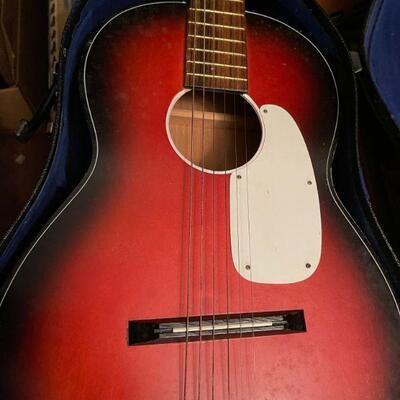 Conrad guitar and case