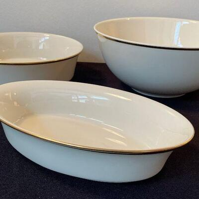 76 Lenox Eternal 6 Piece Place China Set Service For 12 Estatesales Org