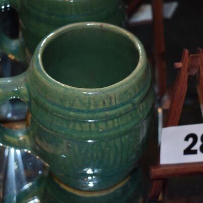 McCoy 1929 Tankard Shield Mug