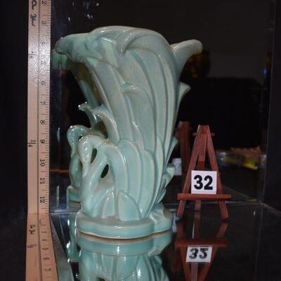 1940 McCoy Swan Vase