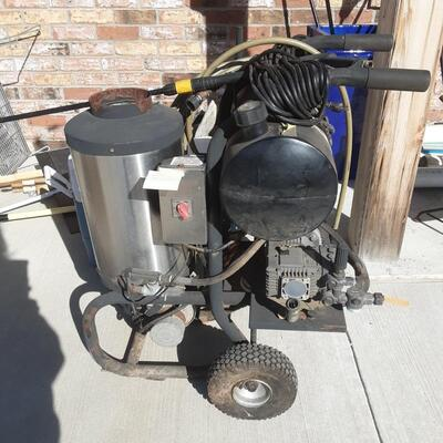 Hot water pressure washer - fully tested