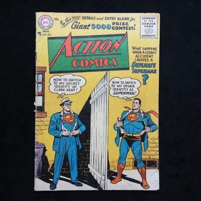 Action Comics #222 (1956,DC)  3.0 GD/VG