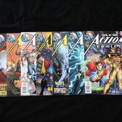 Action Comics Lot containing 7 issues. (2004,DC)  9.0 VF/NM