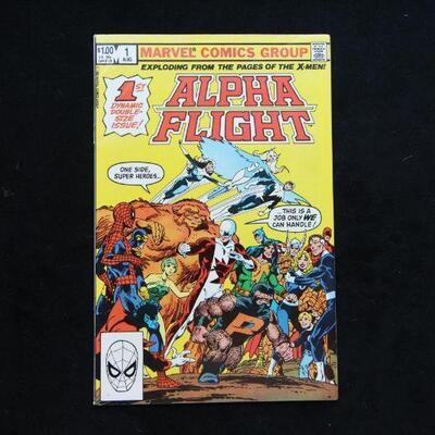 Alpha Flight #1 (1983,Marvel)  9.2 NM-
