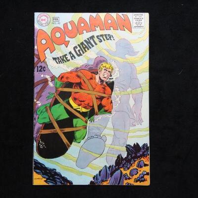 Aquaman #43 (1969,DC)  6.5 FN+