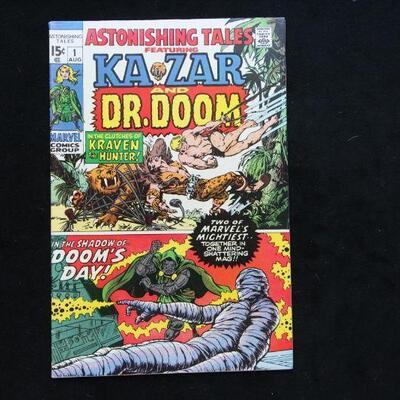 Astonishing Tales #1 (1970,Marvel)  6.0 FN