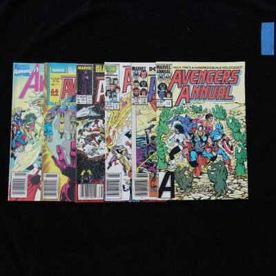 Avengers Lot containing 6 issues. (1984,Marvel)  8.5 VF+