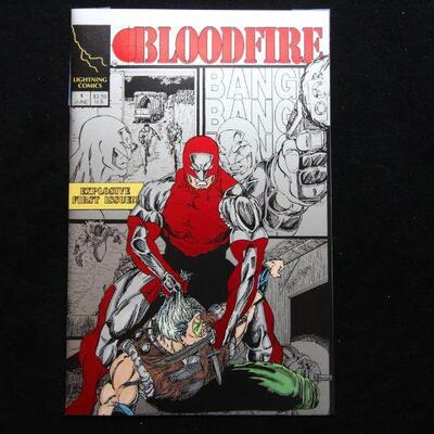 Bloodfire #1 Variant