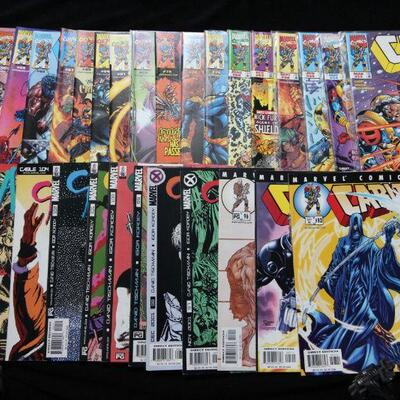 Cable Lot containing 30 issues. (1998,Marvel)  8.5 VF+