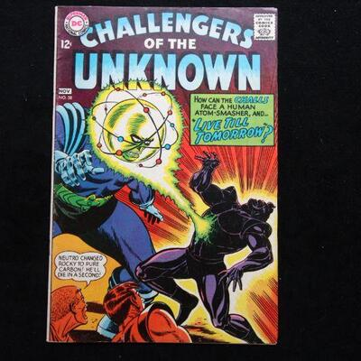 Challengers of the Unknown #58