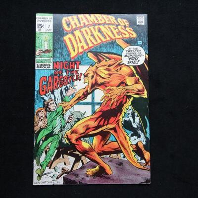 Chamber of Darkness #7 (1970,Marvel)  7.0 FN/VF