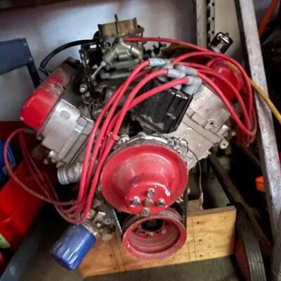 Hot Rod Engine (Pontiac 215 Aluminum small block)