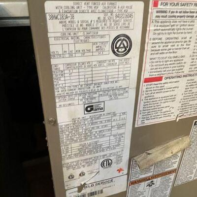 Lennox 38HWC183A-3B Furnace/cooling unit (NEW)