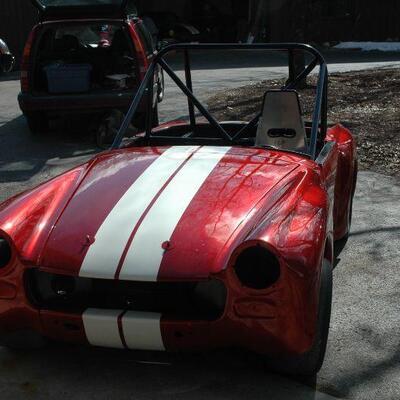 SCCA MG Midget Race Car