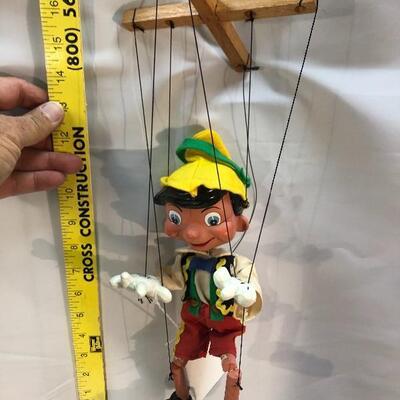 Pelham Disney 1984 Collector Series PINOCHIO Marionette String Puppet