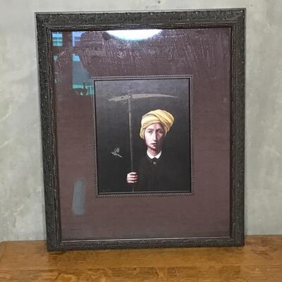 142 - The Talisman by Tim Cantor - Framed