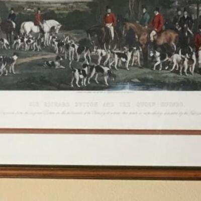290 - Framed Print Sir Richard Sutton