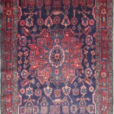 Persian hamedan Authentic Vintage Persian Rug 9'4