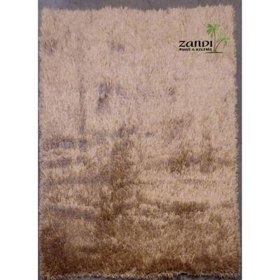 Indian Shaggy design wool/cotton rug size 8'7''x 8'7'' Retail $10215