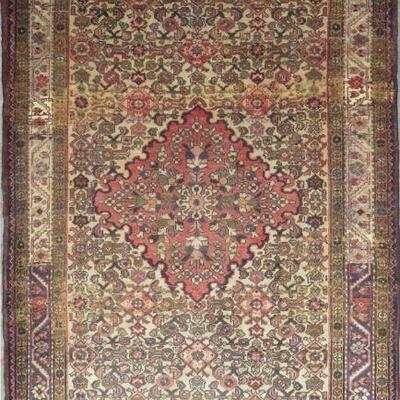 Persian hamedan Authentic Traditonal Vintage Persian Rug 9'9