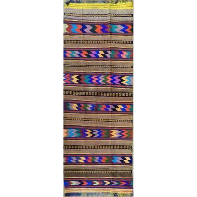 Authentic Persian Vintage Kilims Natural Wool Area kilim 11'7