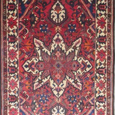 Persian hamedan Authentic Traditonal Vintage Persian Rug 8'75
