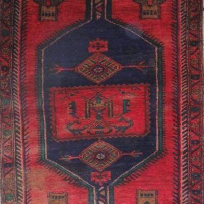 Persian hamedan Authentic Traditonal Vintage Persian Rug 7'2'x3'4