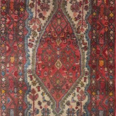 Persian hamedan Authentic Traditonal Vintage Persian Rug 7'7