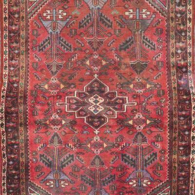 Persian hamedan Authentic Traditonal Vintage Persian Rug 6'10