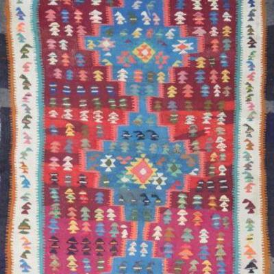Persian Seneh, Vintage Kilim Collection and Modern kilim 8'0