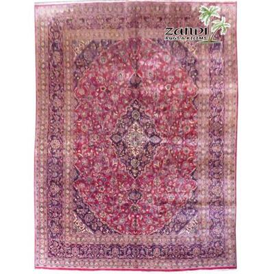 Medallion Red Wool Persian Rug Size 13'0