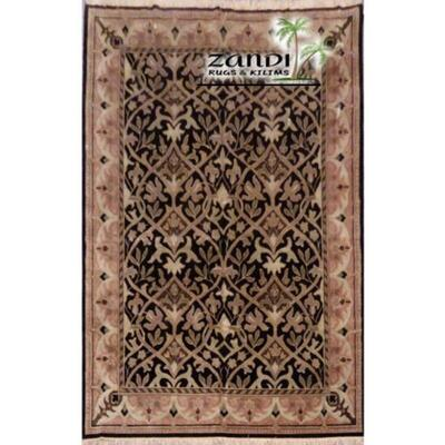 Traditional wool/cotton indian rug size 8'9''x11'8'' Retail $25204.8