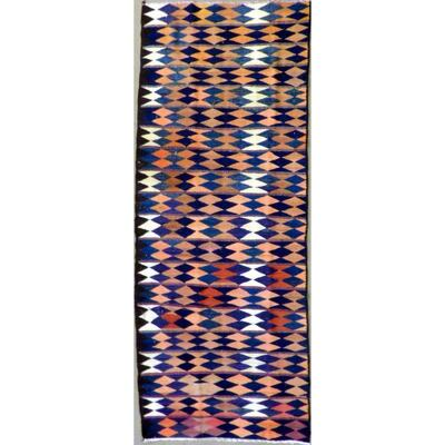 Authentic Persian Vintage Kilims Natural Wool kilim 9'5